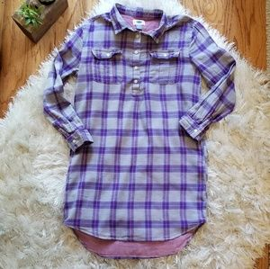 Other - Old Navy plaid tunic dress